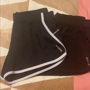 Black Reebok Athletic Shorts